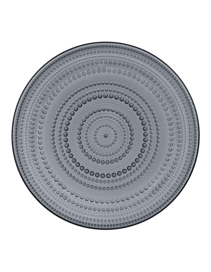 Kastehelmi Plate 31.5cm Dark Grey image 1
