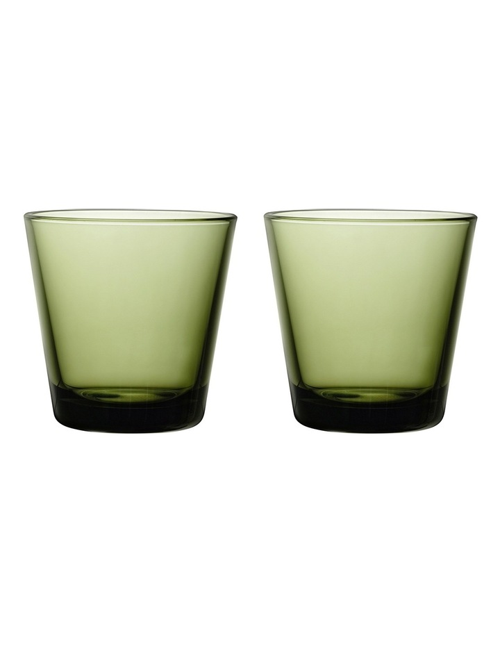 Kartio Tumbler Set Of 2 Moss Green image 1