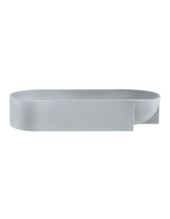 Kuru Ceramic Bowl 27 x 7.5cm Grey image 1