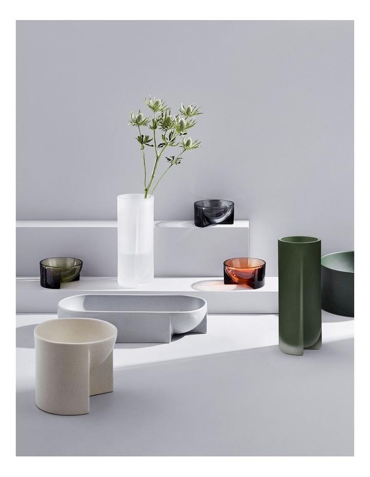 Kuru Ceramic Bowl 27 x 7.5cm Grey image 3