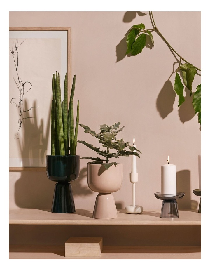 Nappula Plant Pot 26cm Dark Green image 2