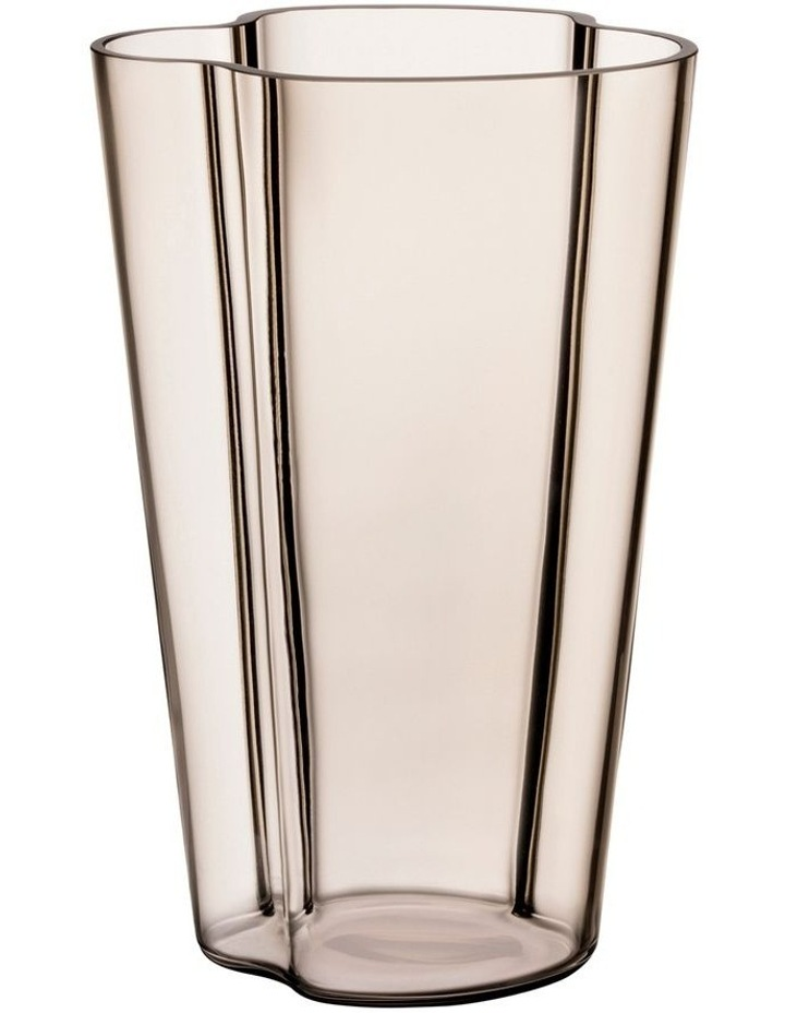 Alvar Aalto Collection 22cm Glass Vase in Clear image 1