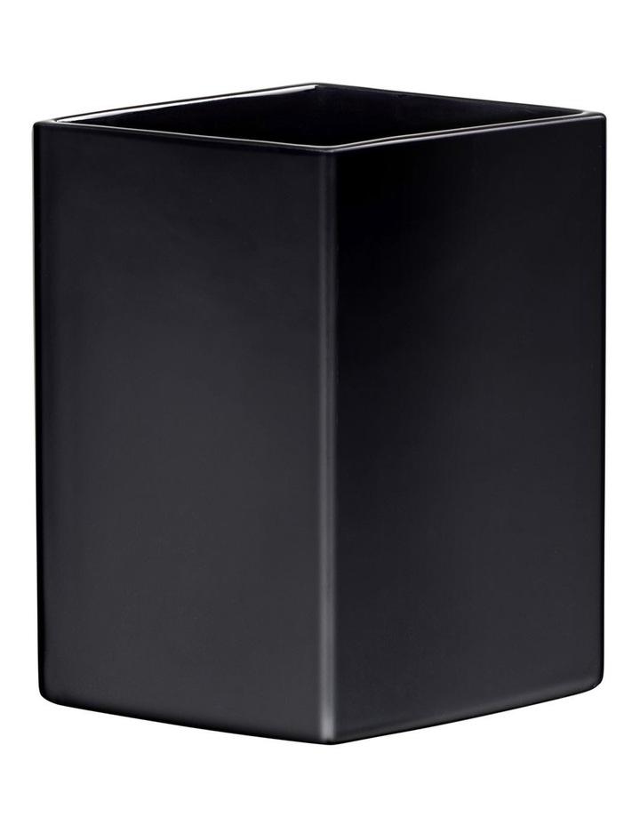 Ruutu Vase 22cm Black image 1