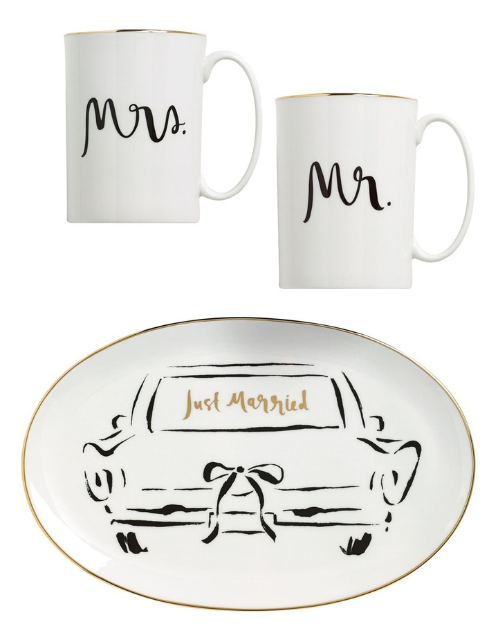 Bridal Party Mr & Mrs Mug Pair image 2