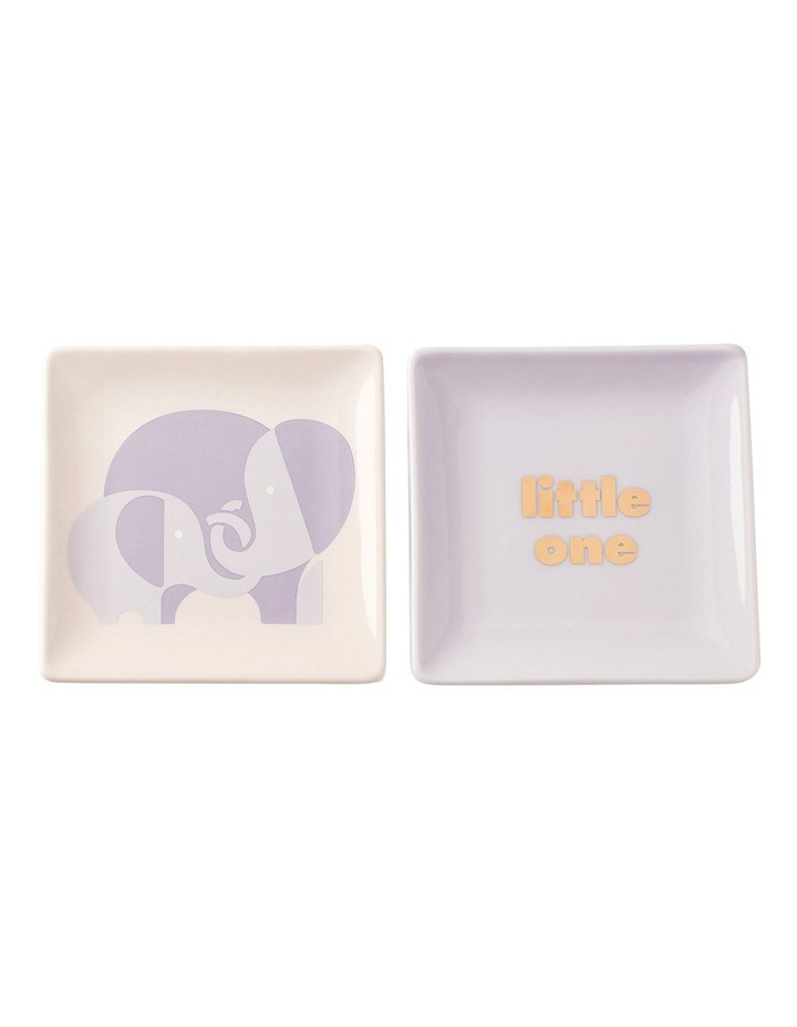 Sweet Talk 'Little One' Square Dish S2 image 1