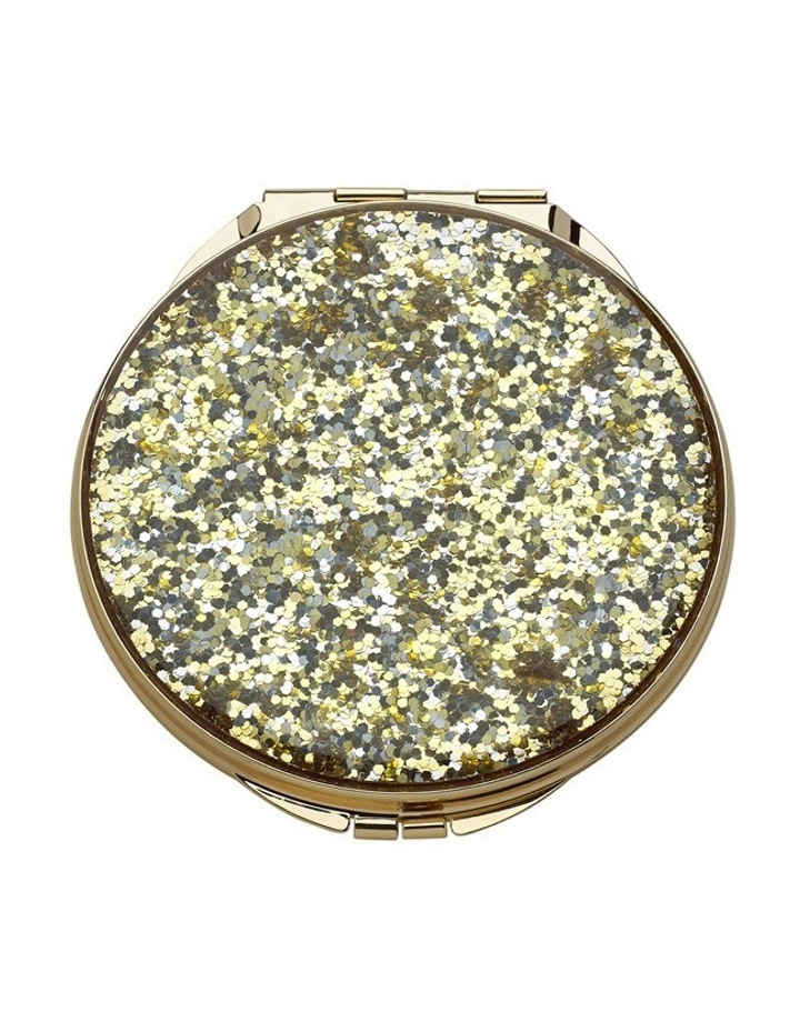 Sparkling Compact Gold image 1