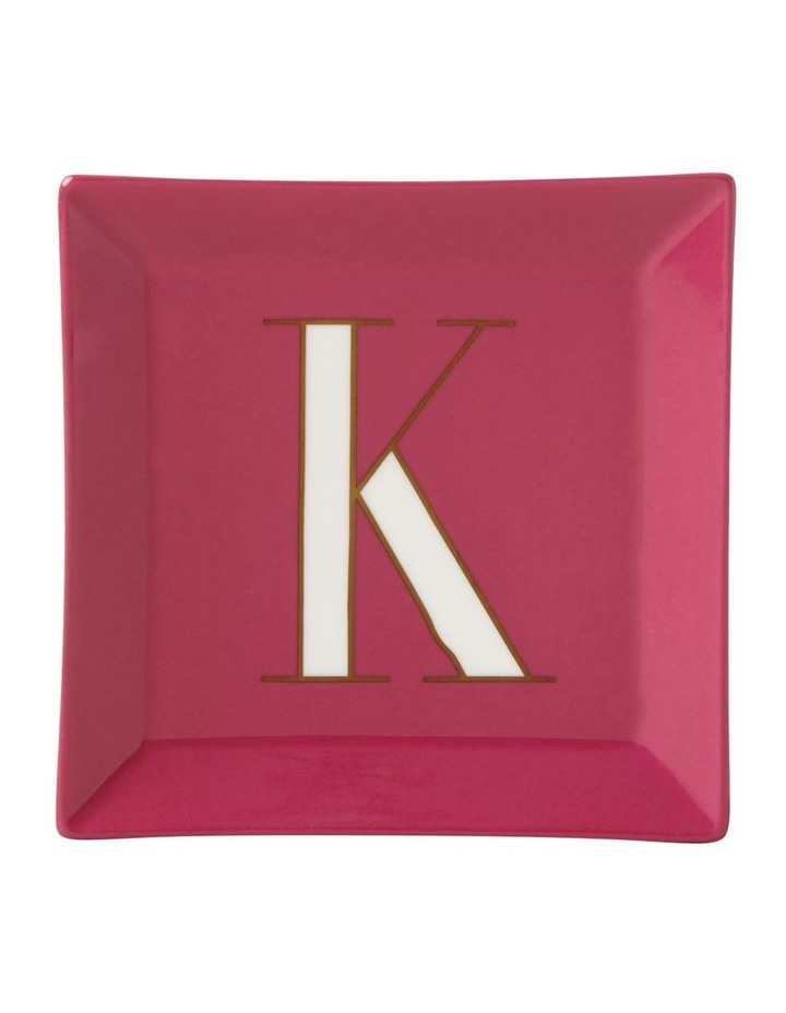 Its Personal 'K' Tray 10cm image 1