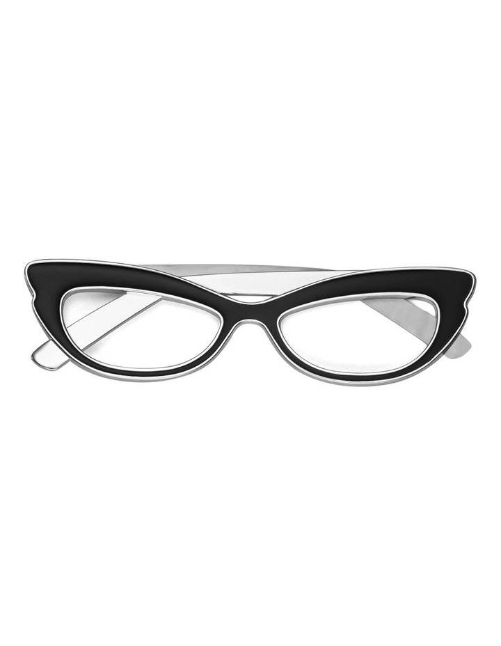 Silver Wit Glasses Bookmark image 1