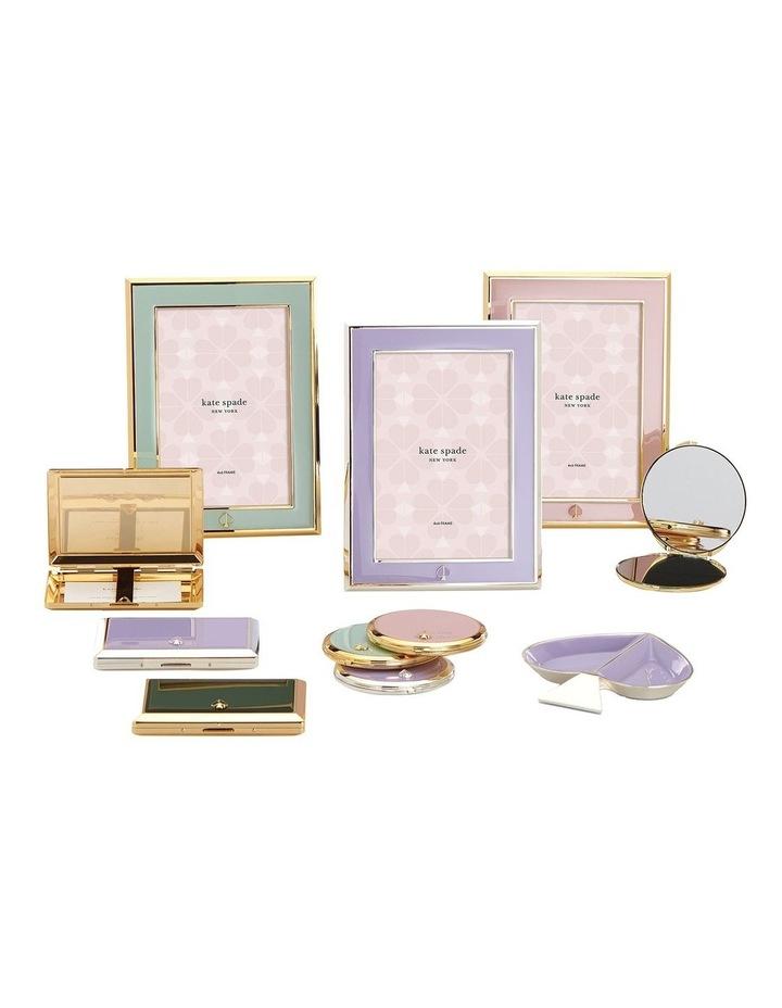 Spade Street Lilac Compact Mirror image 2