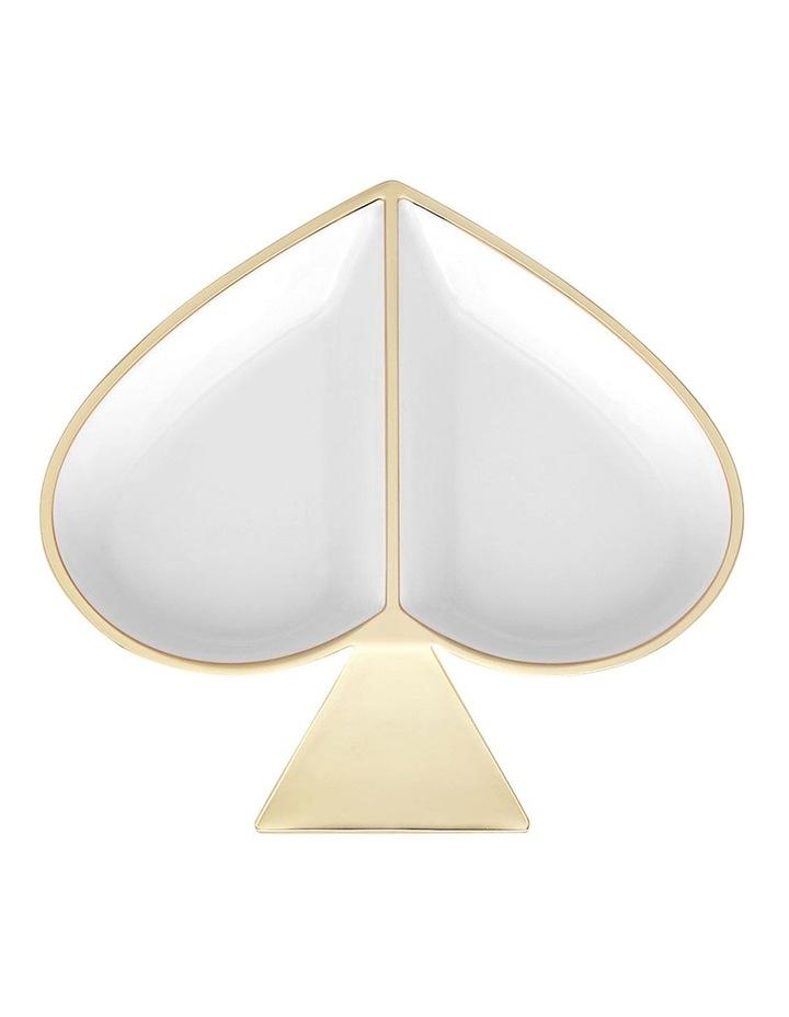 Spade Street White Jewellery Dish image 1