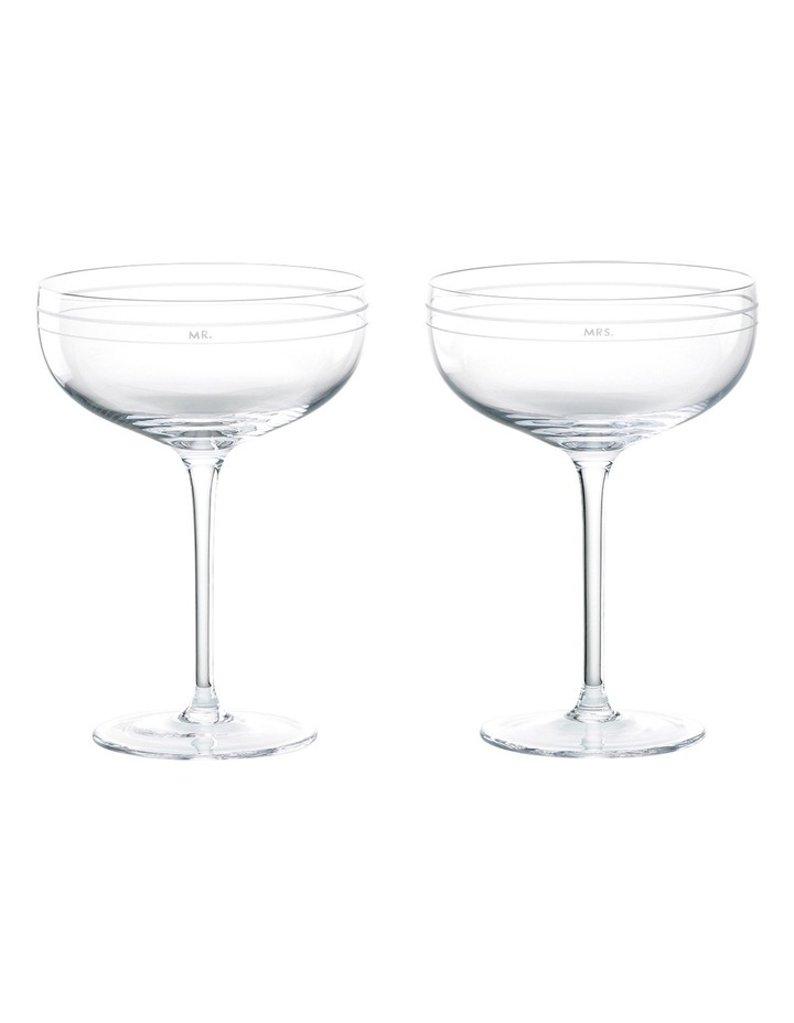 Darling Point Champagne Saucer Pair image 1