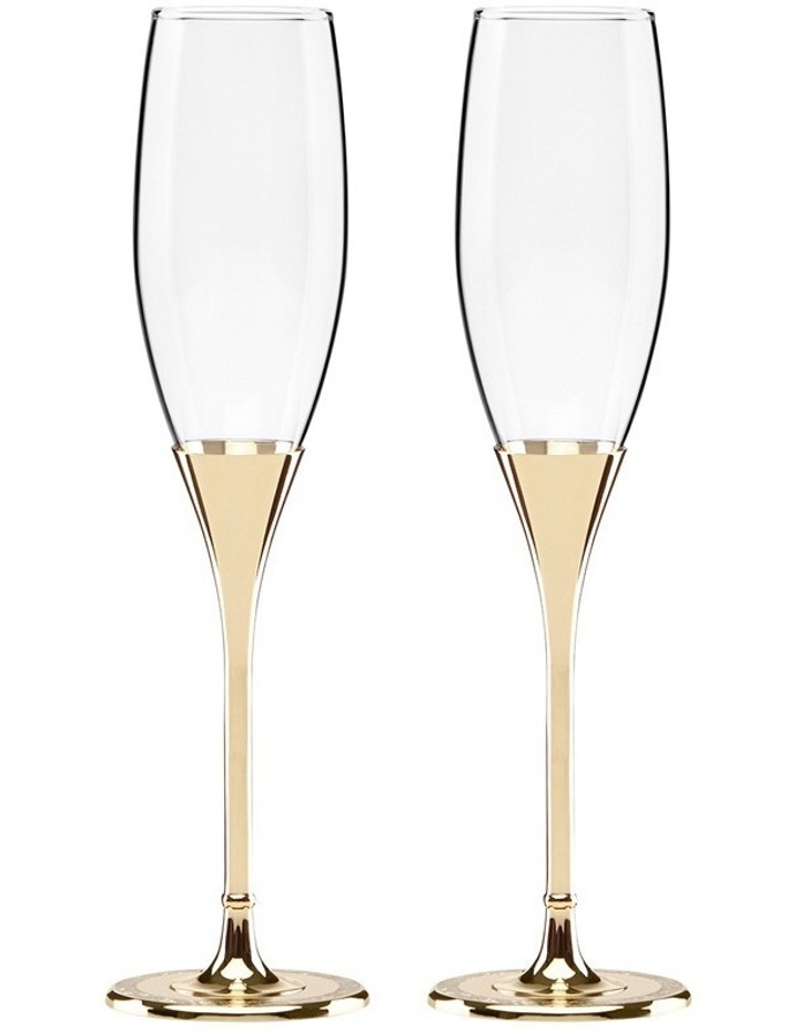 Simply Sparkling Flute Pair Gold image 1