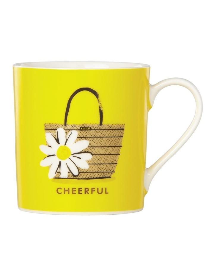 Things We Love Straw Bag 'Cheerful' Mug image 1