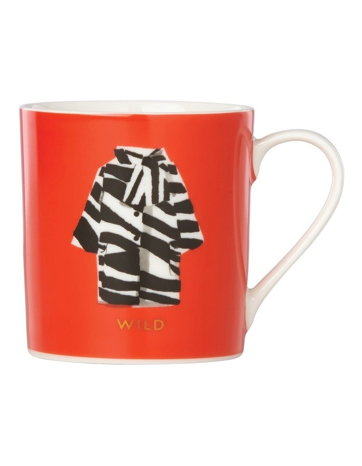 Things We Love Zebra Coat 'Wild' Mug image 1