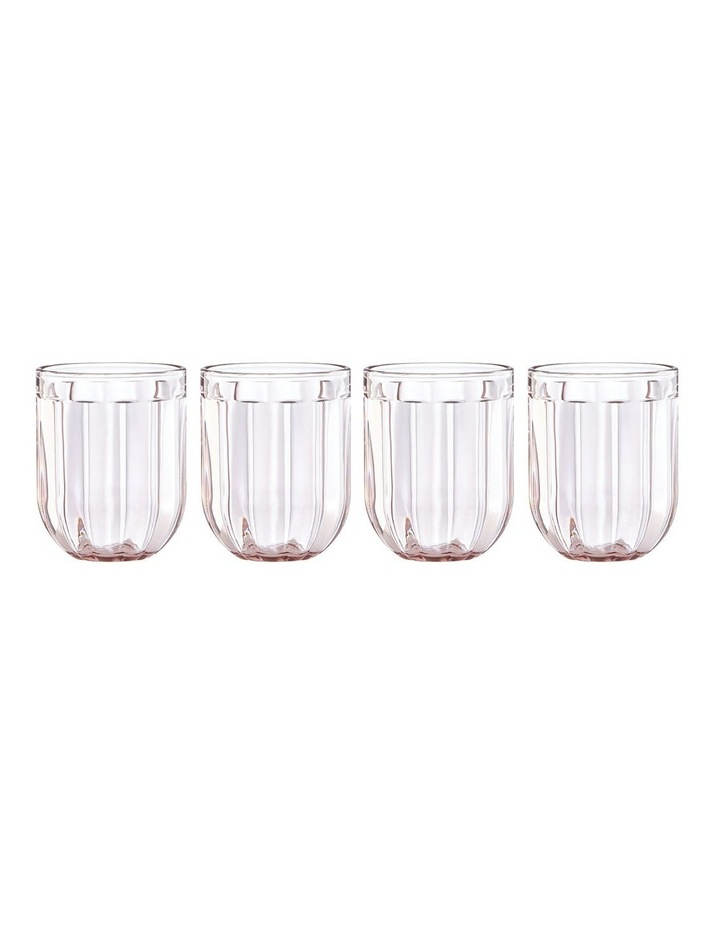 Park Circle Rose Tumbler Set of 4 image 1