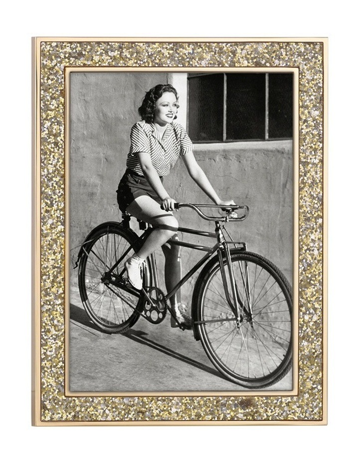 Simply Sparkling Frame 5x7 Gold image 1