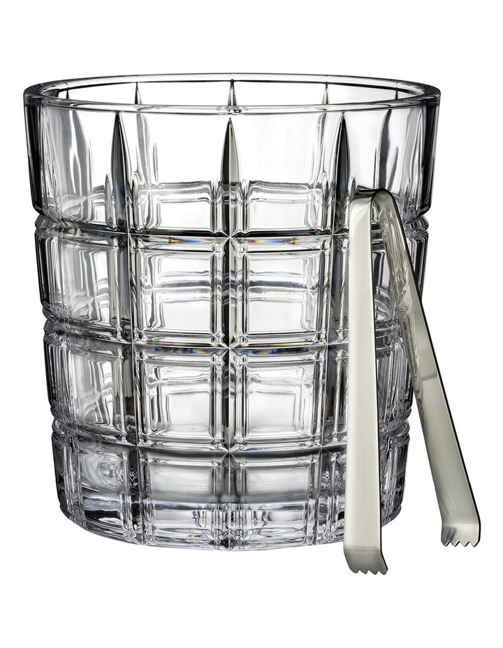 Crosby Ice Bucket with Tongs image 1