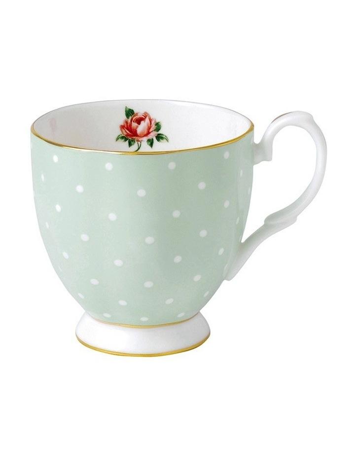 Polka Rose Vintage Mug 300ml image 1