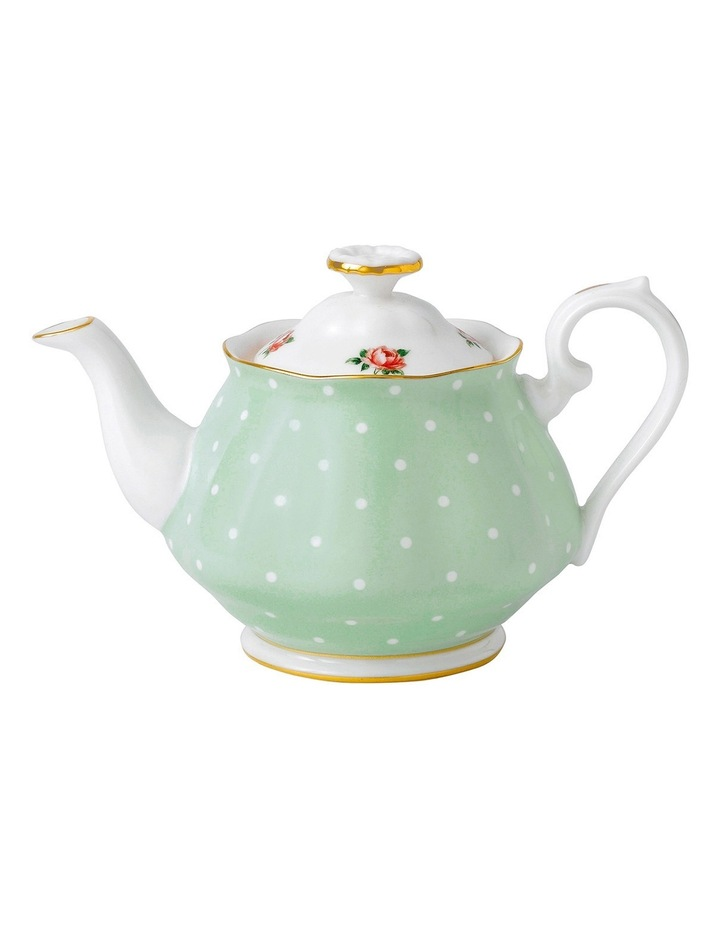 Polka Rose Teapot 450ml image 1