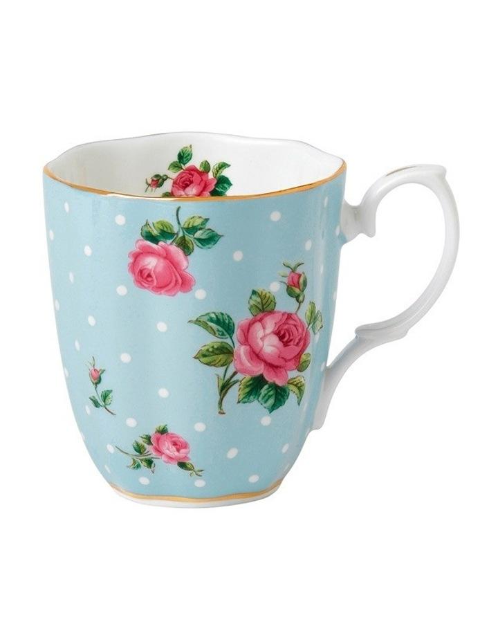 Polka Blue Vintage Mug 400ml image 1