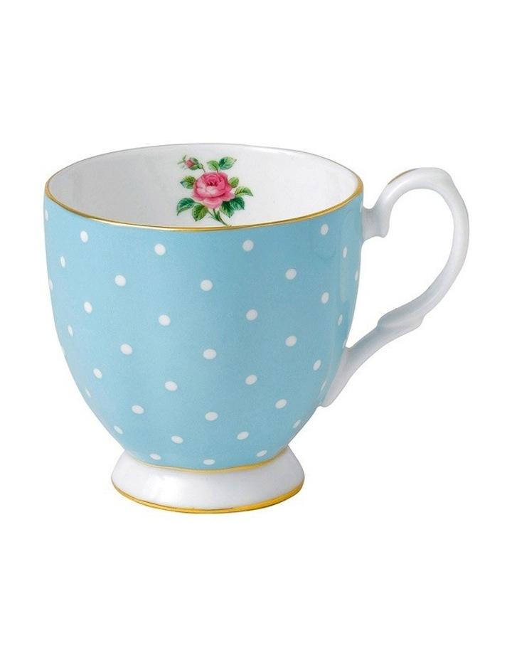 Polka Blue Vintage Mug 300ml image 1