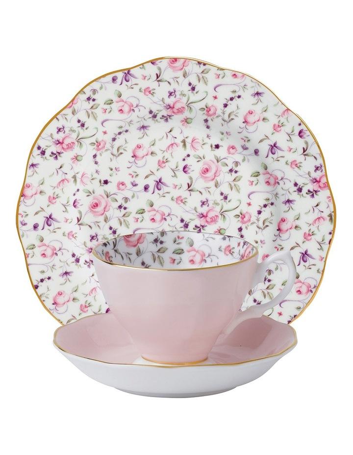 Rose Confetti Teacup Saucer & Plate image 1
