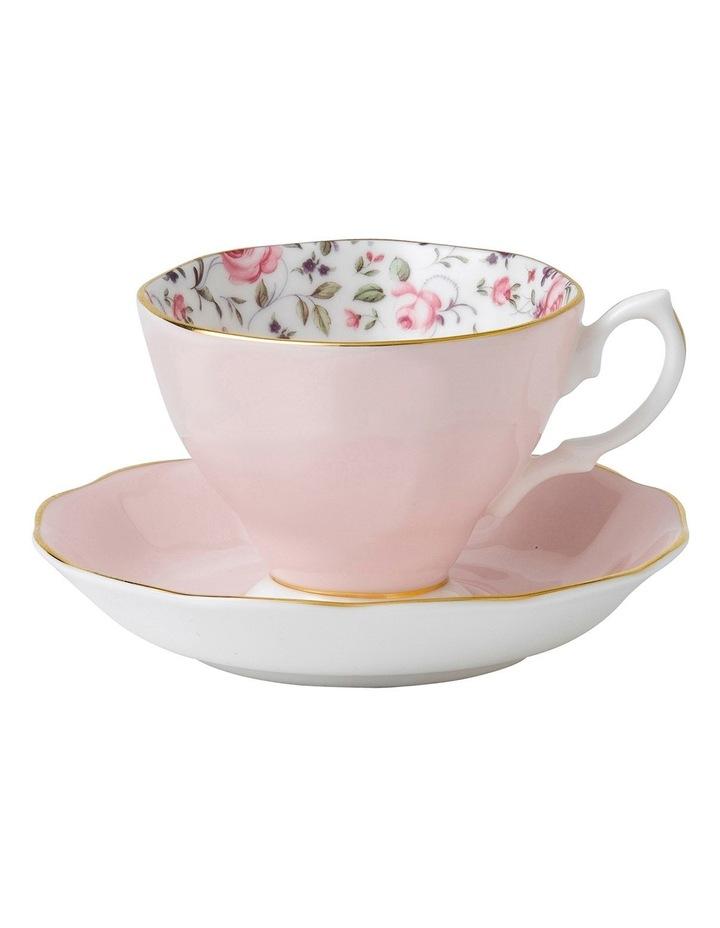 Rose Confetti Teacup & Saucer image 1