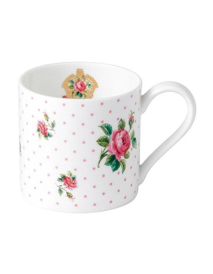 Cheeky Pink Modern Mug (Roses) image 1