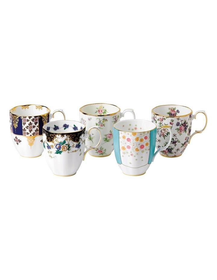 100 Years Set Of 5 Mugs 1900-40S image 1