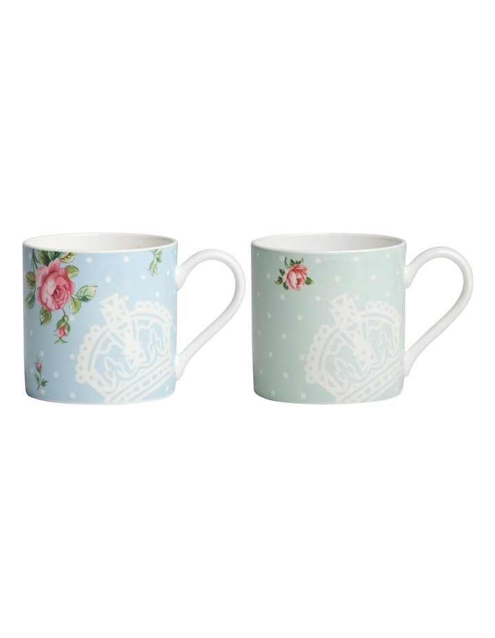 Mugs Polka Rose & Polka Blue (Set of 2) image 1