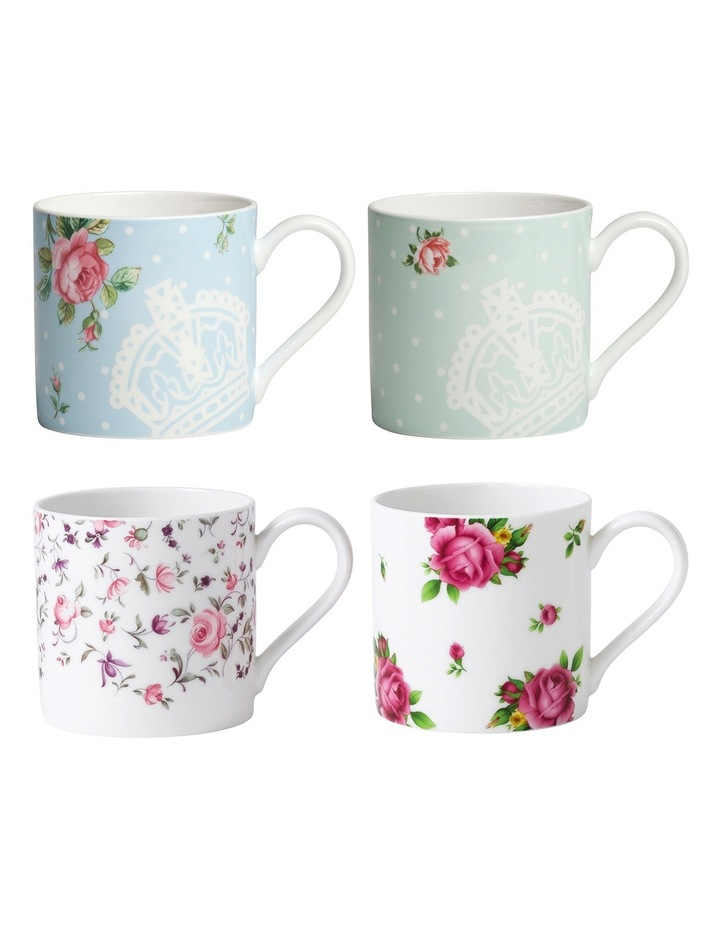 Modern Mugs (Set of 4) image 1