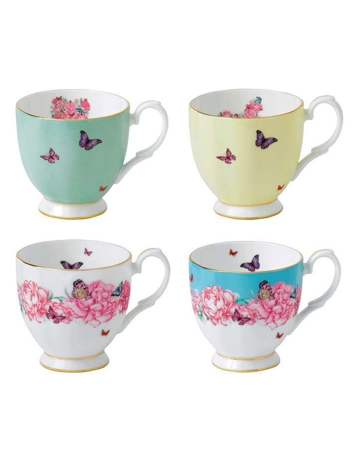Miranda Kerr Vintage Mugs (Set of 4) image 1