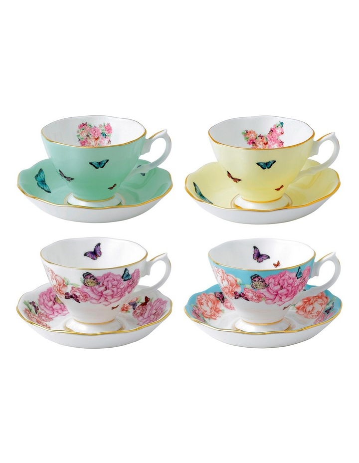 Miranda Kerr Cup & Saucers (Set of 4) image 1