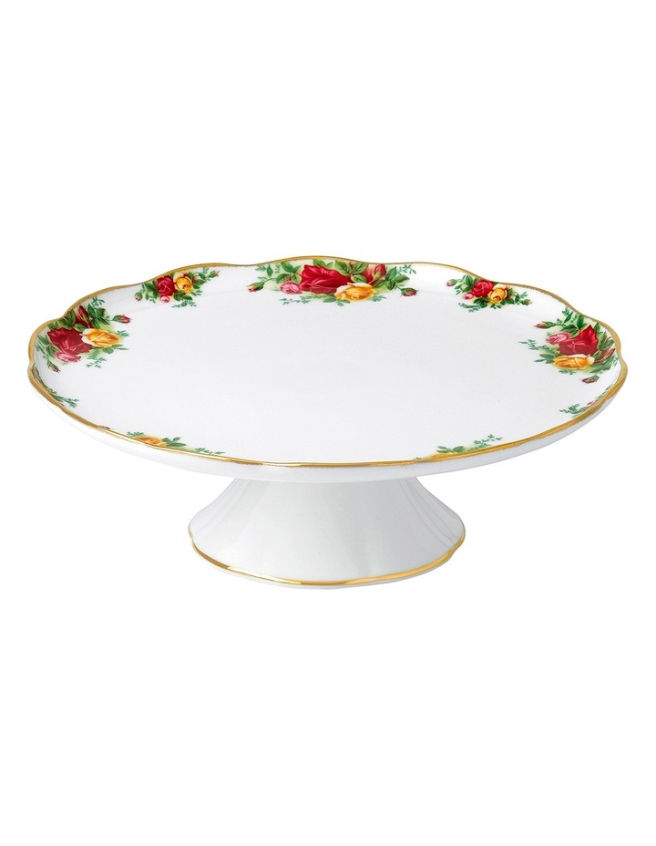 Old Country Roses Cake Stand Large image 1