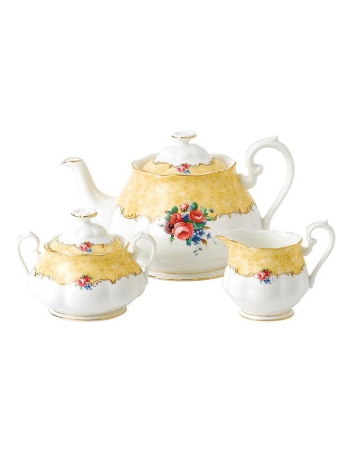 100 Years 1990 Teapot Cream & Sugar image 1