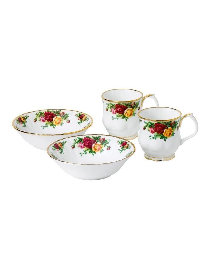 Old Country Roses Mug & Bowl (Set of 4) image 1