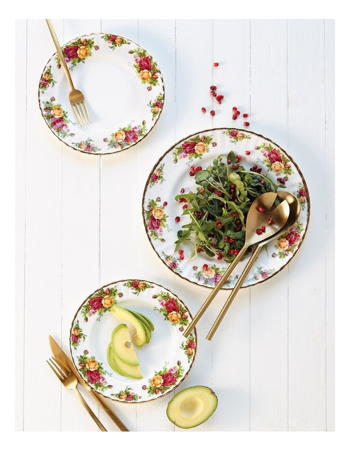 Old Country Roses Plate 20cm (Set of 4) image 2