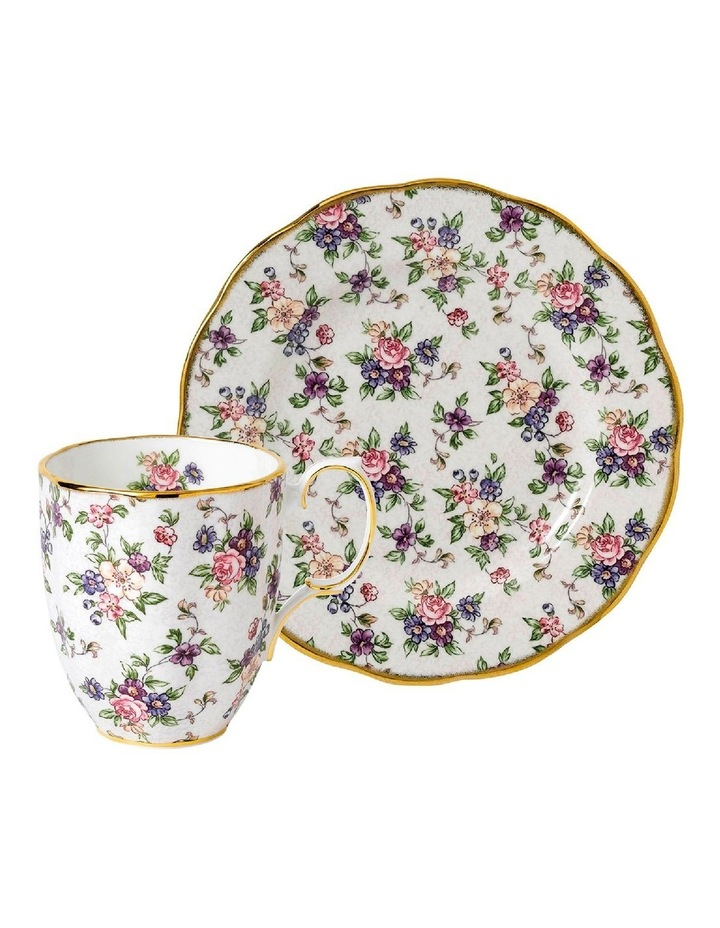 100 Years English Chintz Mug & Plate20cm image 1