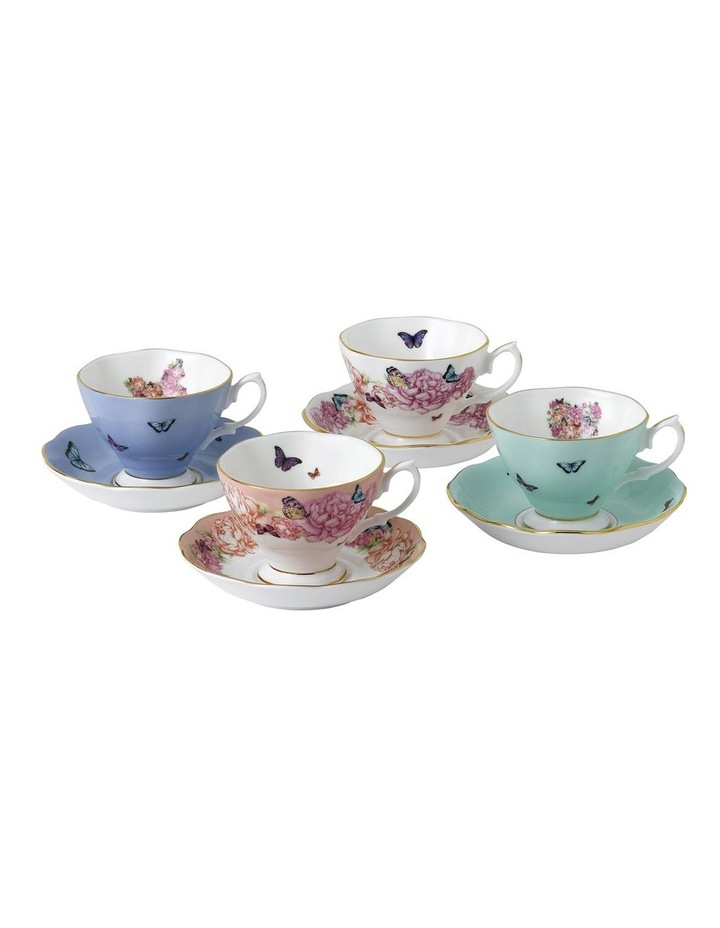 Miranda Kerr Friendship Teacup & Saucer Set of 4 image 1