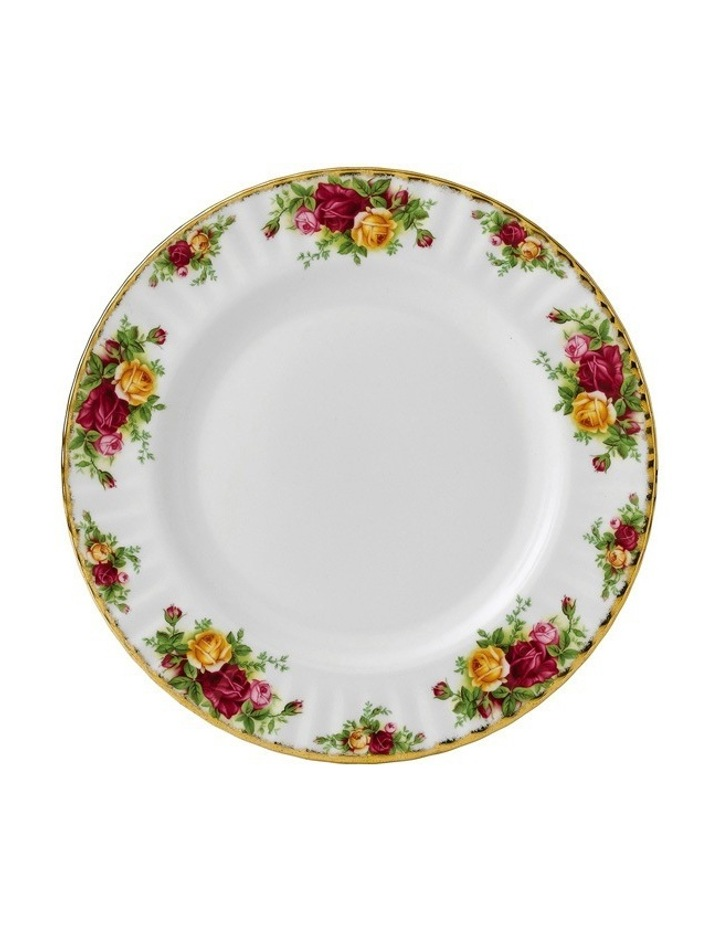 Old Country Roses Plate 27cm image 1