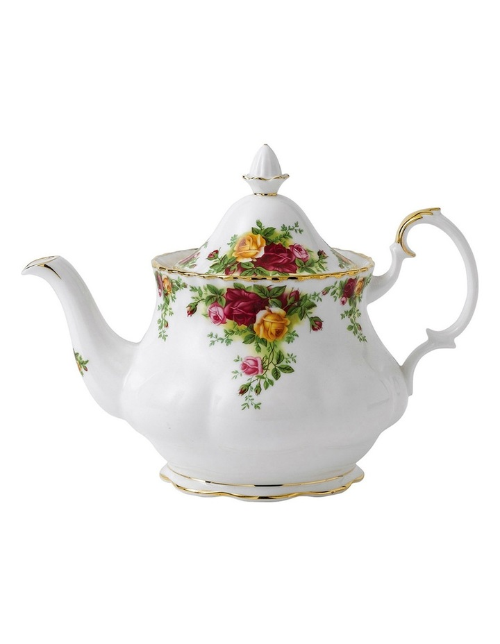 Old Country Roses Teapot Sugar & Creamer image 1