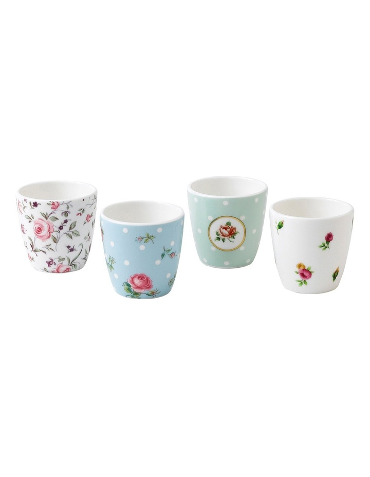Tea Party Egg Cups (Set of 4) image 1