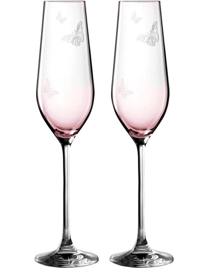 Miranda Kerr Flute Pair Pink 230ml image 1