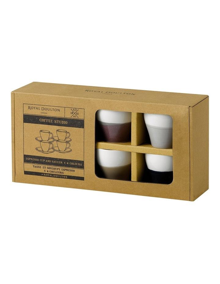 Coffee Studio Espresso Cup & Saucer (Set of 4) image 2