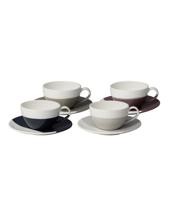Coffee Studio Cap Cup & Saucer (Set of 4) image 1