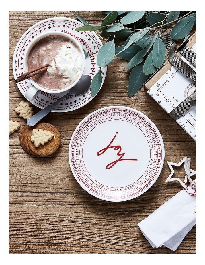 ED Christmas Plate 16cm set 4 image 2