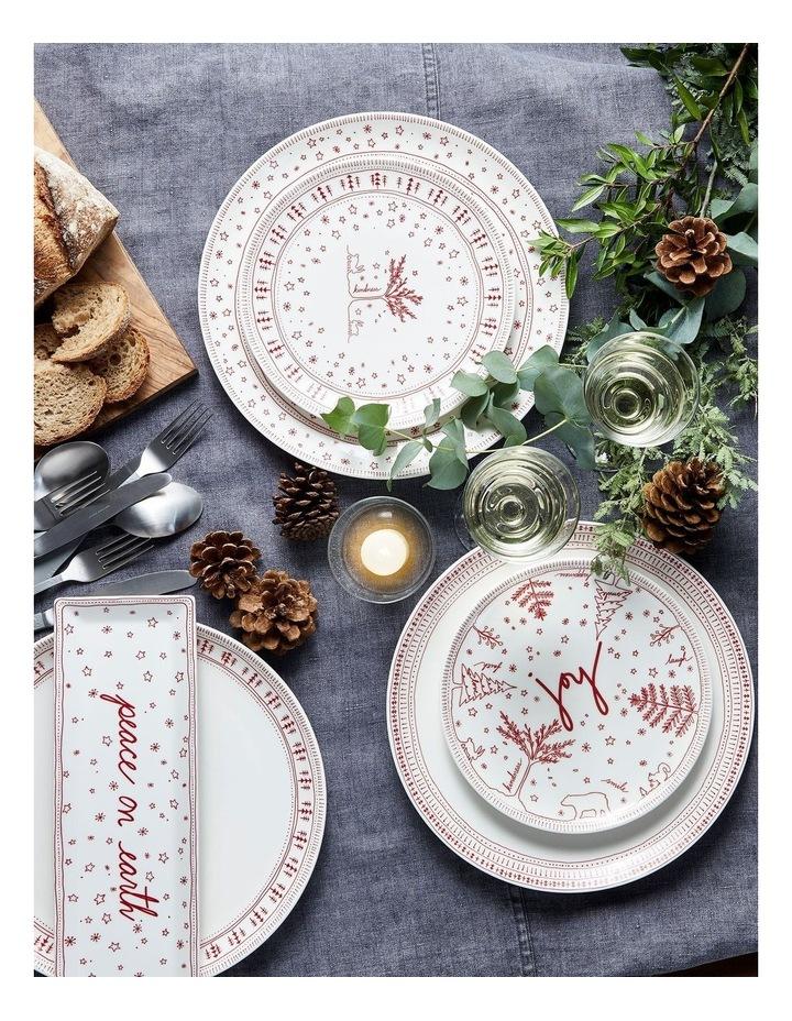 ED Christmas Plate 21cm set 4 image 2
