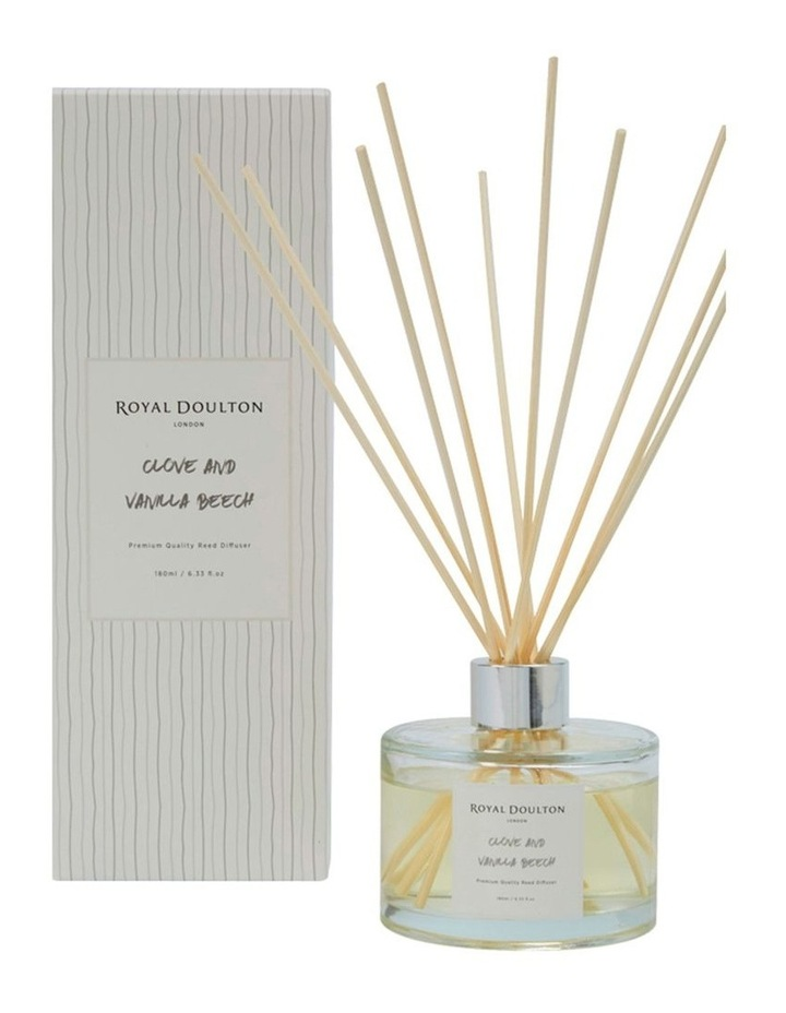 Artisan Aromatheraphy Clove & Vanilla Beech Reed Diffuser image 1