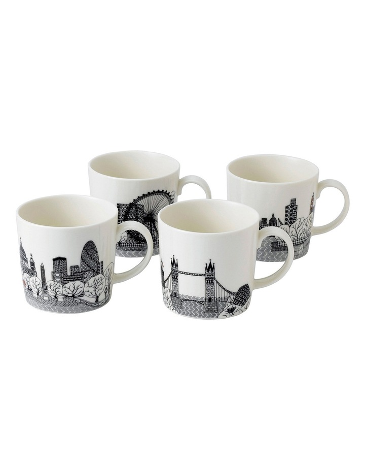 Charlene Mullen London Mug (Set of 4) image 1