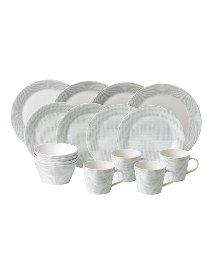 Pacific Mint 16 Piece Place Setting Dots image 1